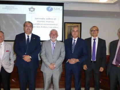 SIIG participa en una jornada sobre la Ley de Racionalización y Sostenibilidad de las Administraciones Públicas