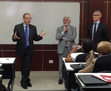 SIIG participa en el Máster Internacional en Gestión Universitaria realizado en República Dominicana