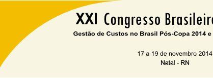 SIIG participa en el XXI Congresso Brasileiro de Custos
