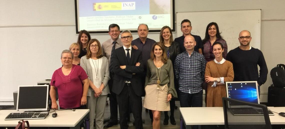 """Segunda sesión presencial del """"Especialista en costes y sostenibilidad de los servicios públicos locales 2018"""" (INAP)"""