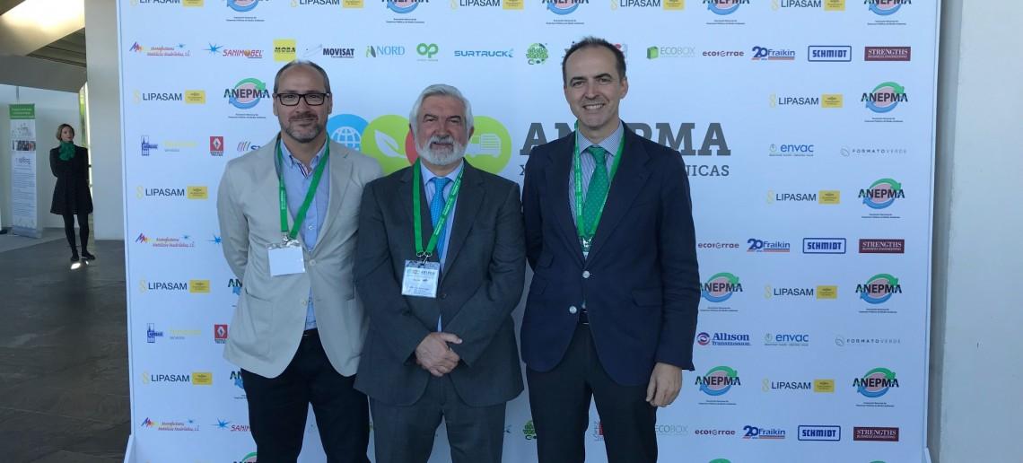"""La Asociación Nacional de Empresas Públicas de Medio Ambiente (ANEPMA) celebra sus """"XXV Jornadas Técnicas de Medio Ambiente"""""""