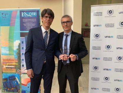 """La Universidad de Málaga (UMA) premia a la Cátedra AYTOS-Berger Levrault para el desarrollo del Smart Governance en la primera """"Jornada de Cátedras y Aulas por Mecenazgo"""""""