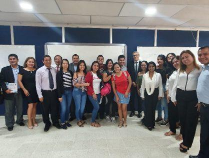Segunda promoción de la Maestría en Contabilidad y Auditoría. Mención Gestión Tributaria por la Universidad Técnica de Machala (Ecuador)